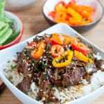 Slow Cooker Asian Honey Sesame Beef