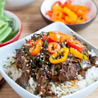 This Crock Pot Asian Sesame Beef is a healthy one pot meal recipe everyone loves.