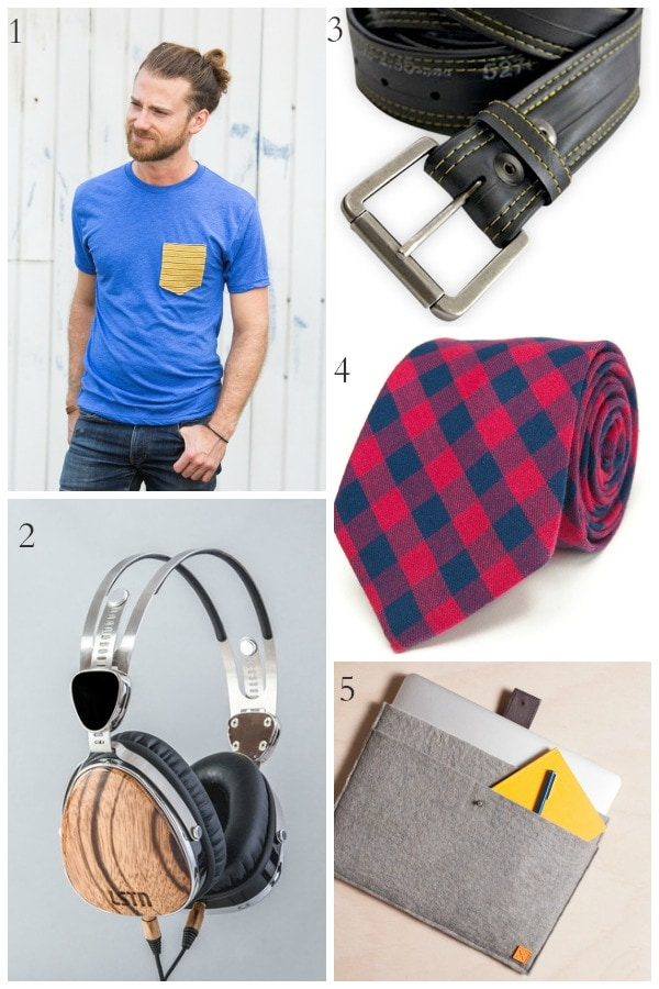 Shop for a cause this year with these great gifts that give back for the men in your life.
