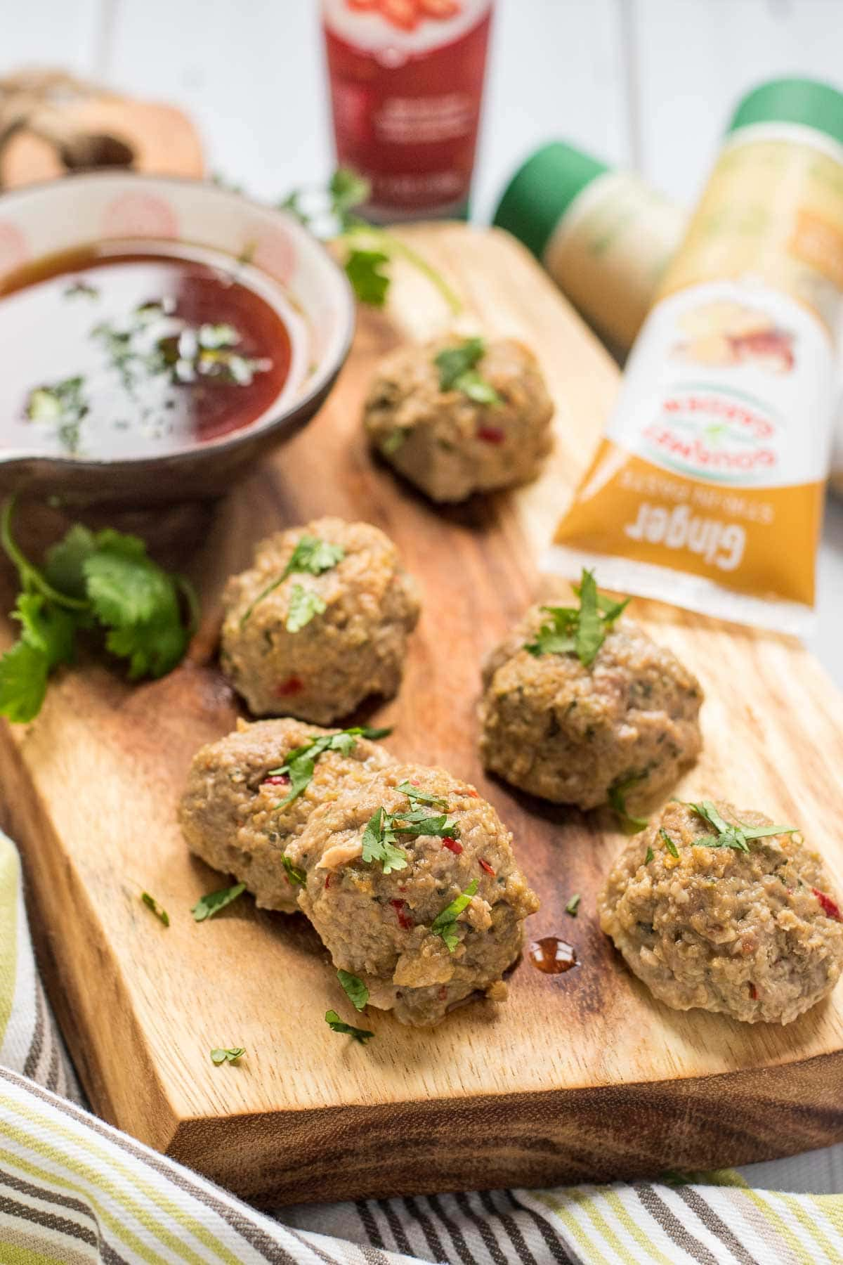 These Thai Turkey Meatballs are packed with flavor and a great healthy appetizer!
