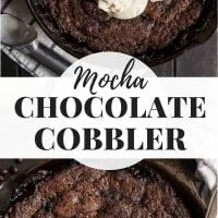 Mocha Chocolate Cobbler