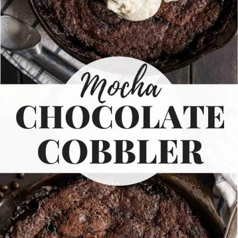 Mocha Chocolate Cobbler