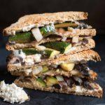 Roasted Portbello Mushroom Veggie Sandwich
