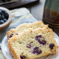 Blueberry Lemon Crumb Bread