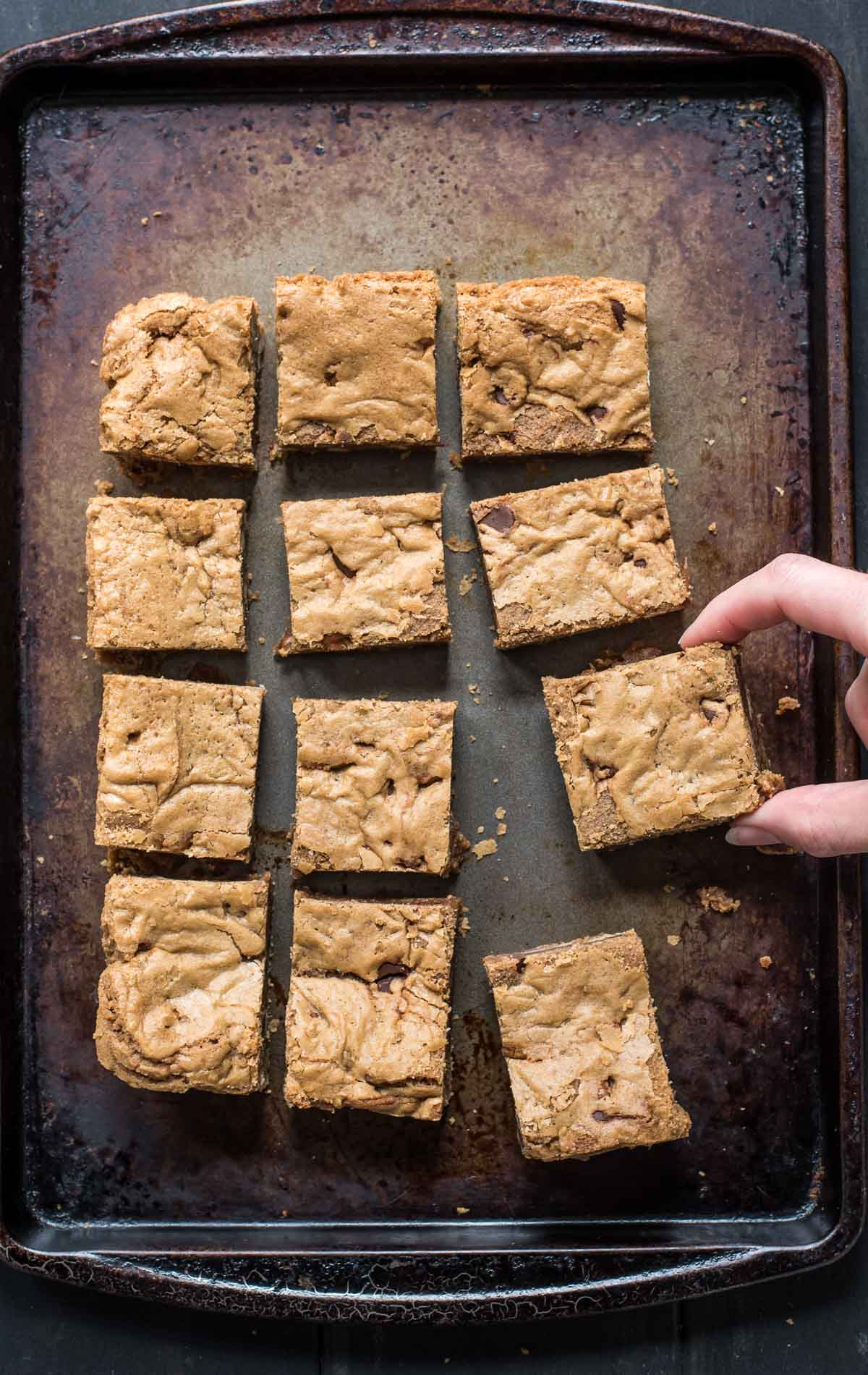 These Brown Butter Pecan Blondies are an irresistibly simple and sweet treat!