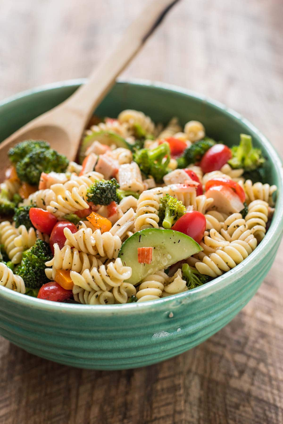 Crab pasta salad recipes italian dressing