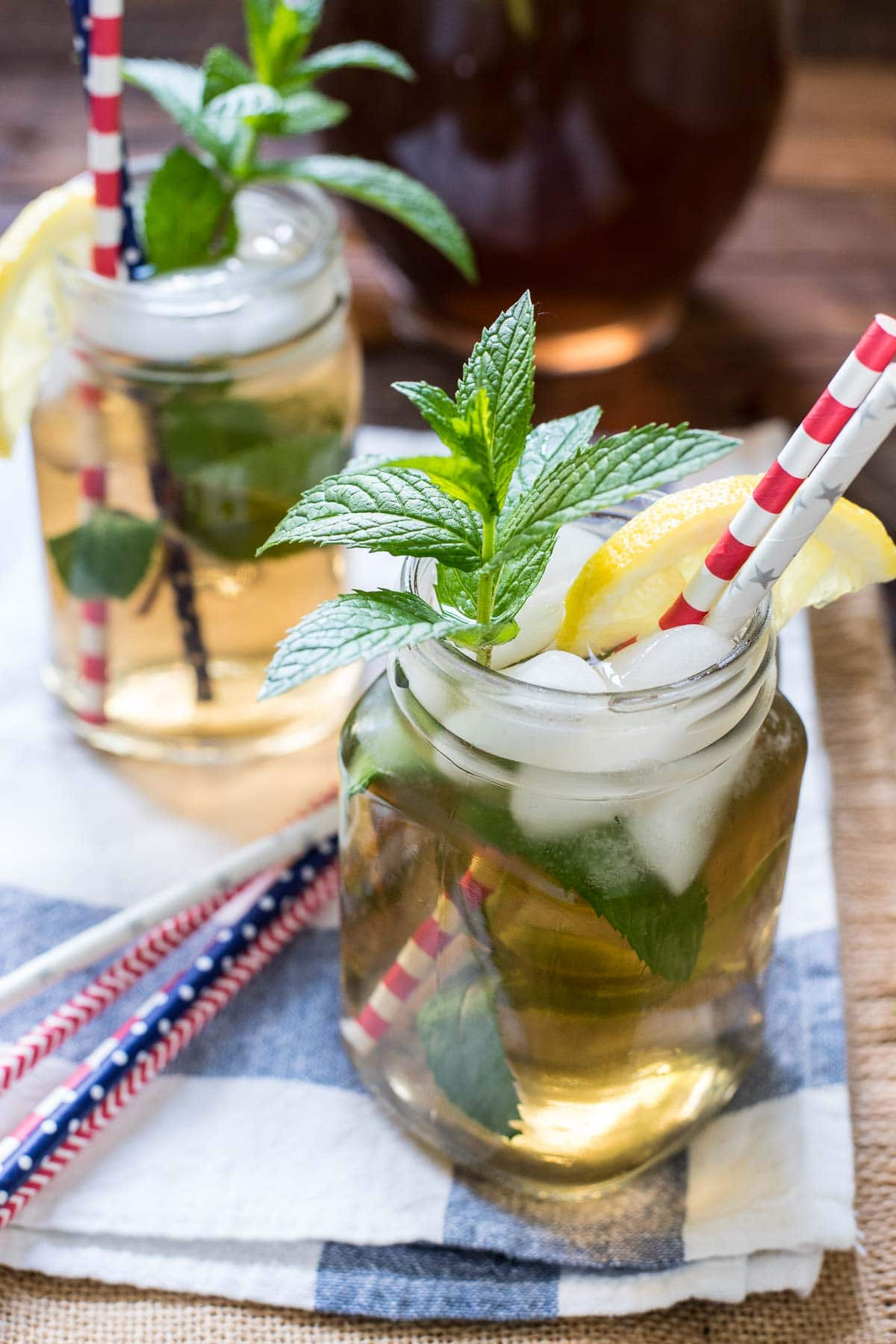 If you need a signature summer beverage, look no further than this refreshing Mint Iced Tea recipe!