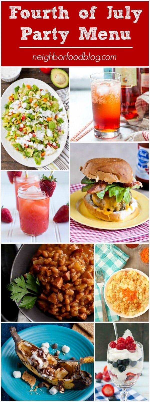 Summer Dinner Party Menus | NeighborFood
