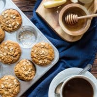 Honey Apple Muffins