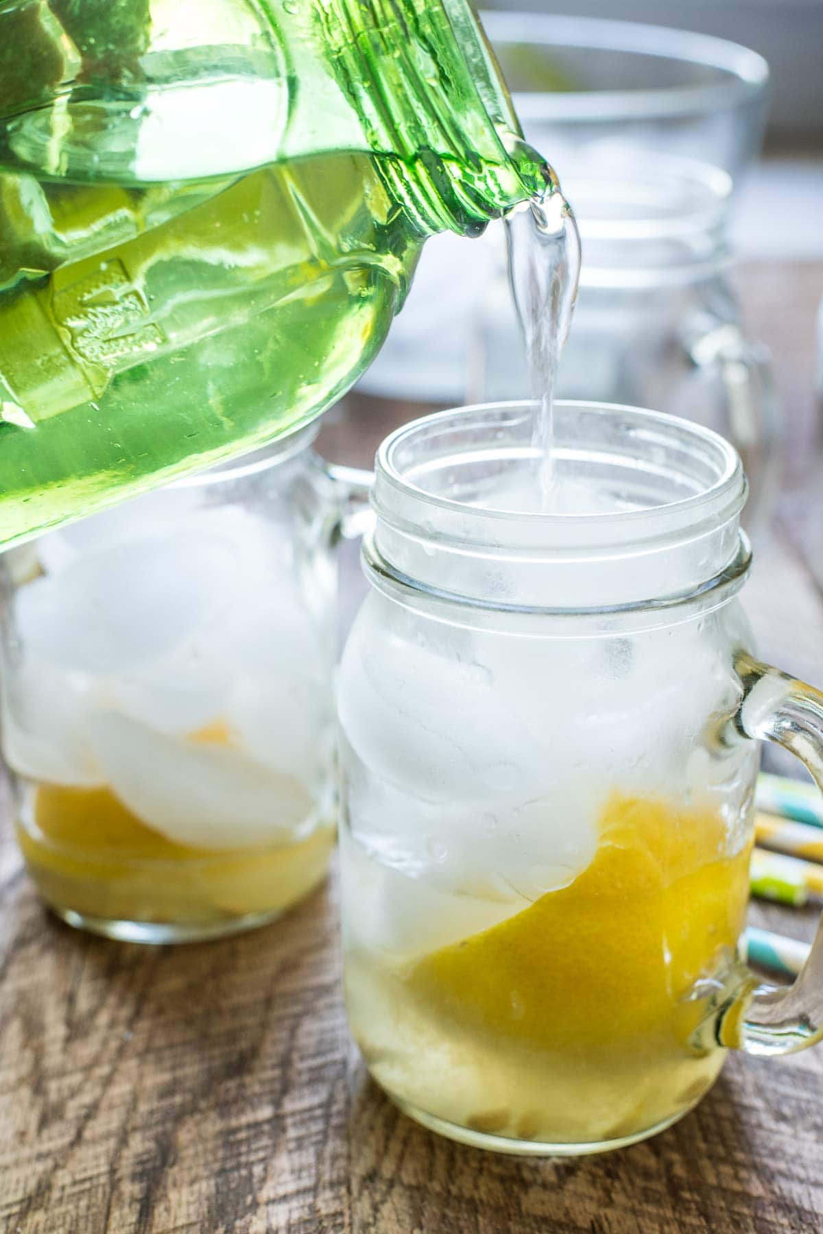 This Homemade Lemon Shake Up Recipe is so refreshing and easy to make!