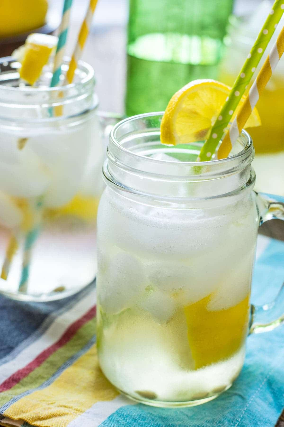 Now you can have all the flavor of a summer festival at your house. This Homemade Lemon Shake Up Recipe is fabulous and so easy to make!