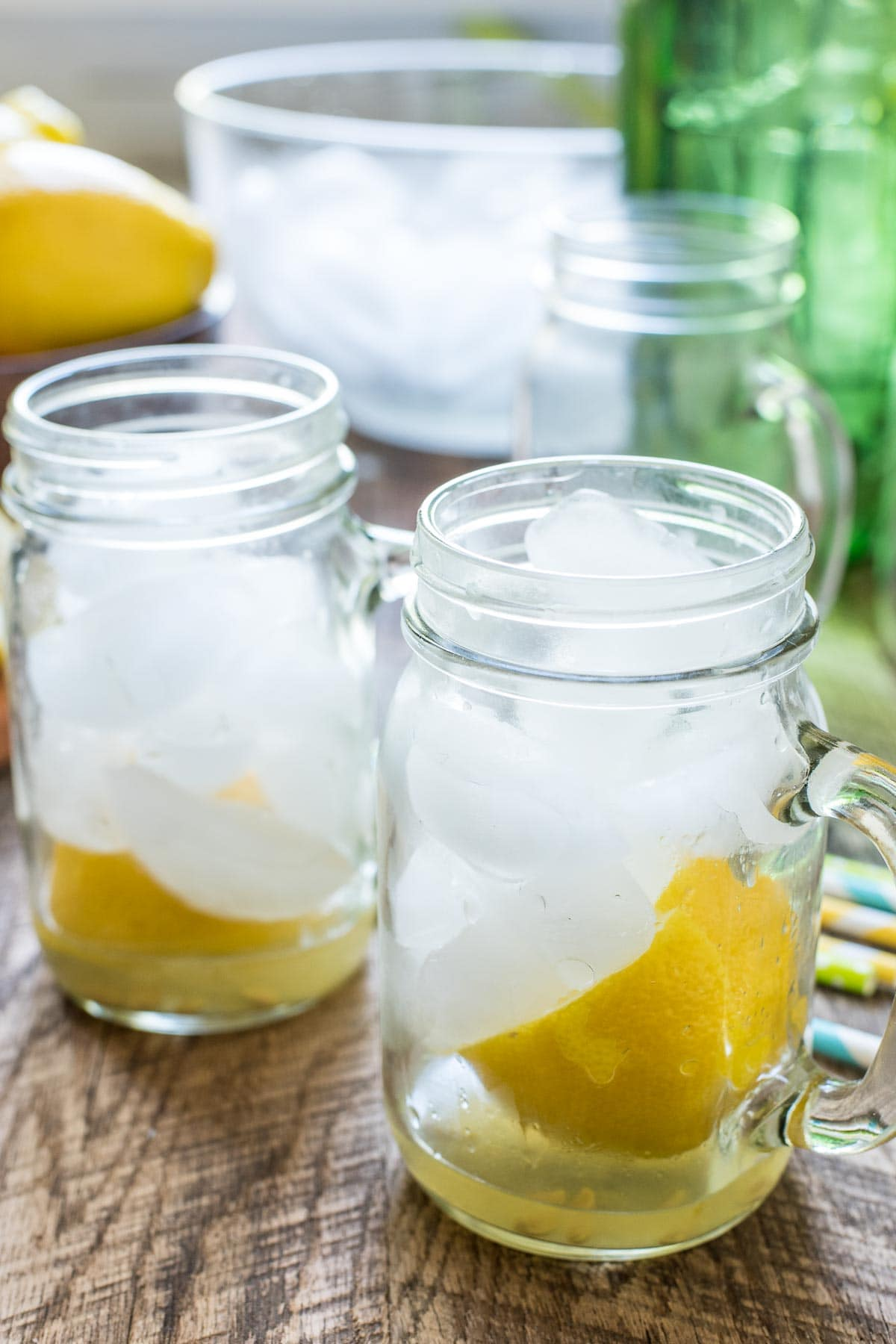 It's so easy to make refreshing Lemonade Shake Ups at home with this Lemon Shake Up Recipe!