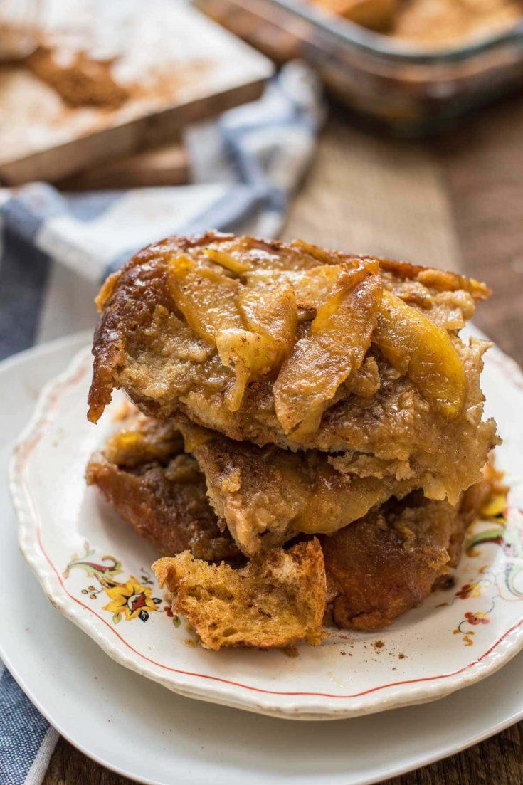 Apple Overnight French Toast Casserole