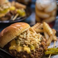 Loaded Slow Cooker Sloppy Joes