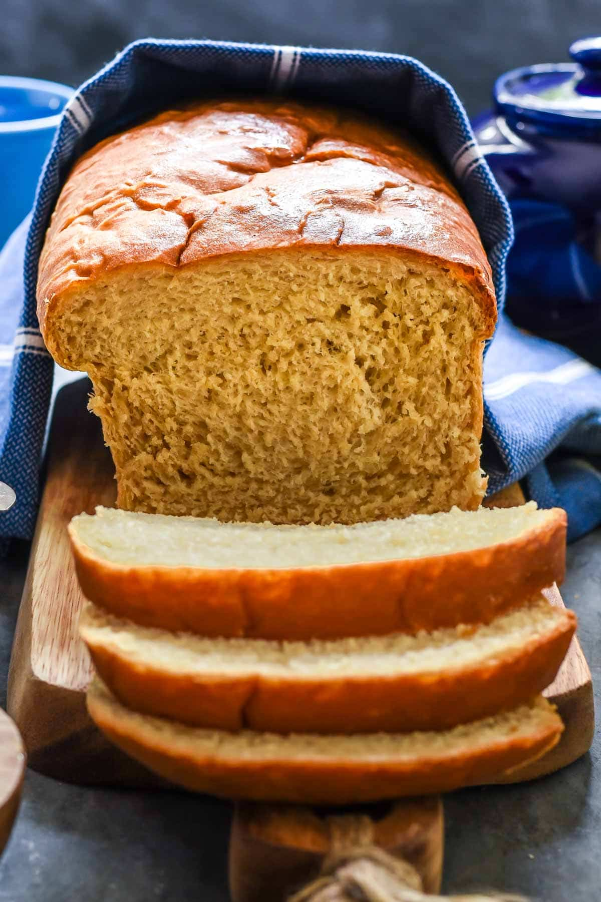 This Amish White Bread recipe is a keeper! It's super easy and perfect for making sandwiches, grilled cheese, or dipping in soup!