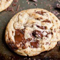 bakery style chocolate chunk cookies image