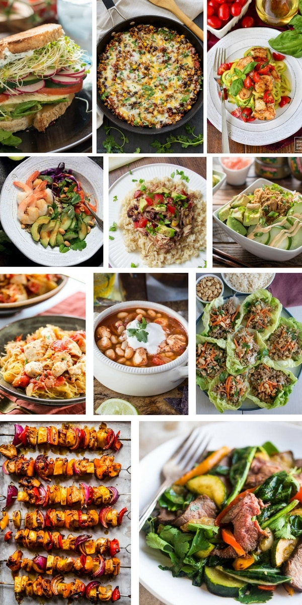 So you're trying to eat healthy, but you can't even think about eating another salad. Here are 20 fresh, healthy dinner ideas that AREN'T salad to give you some fresh inspiration!