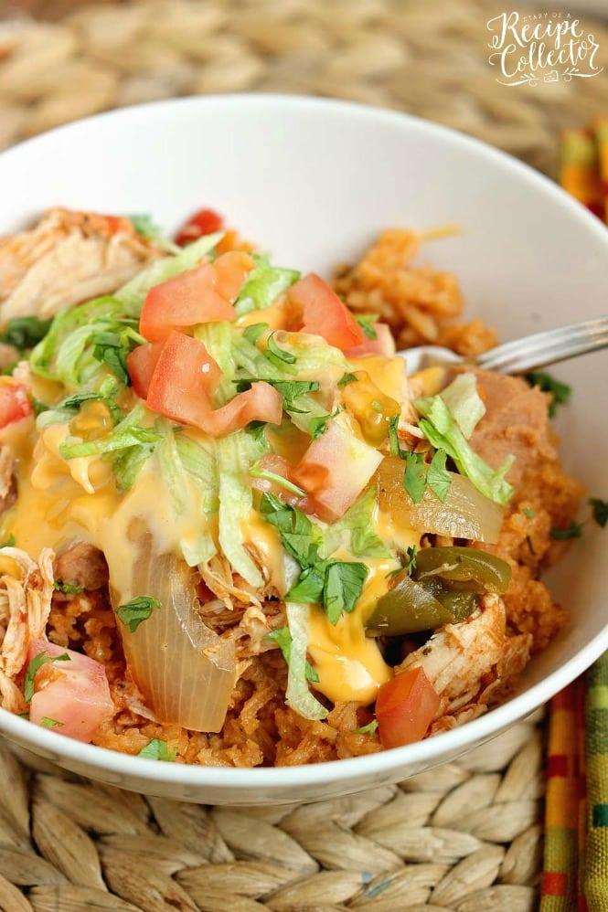 Chicken Fajita Bowlrito