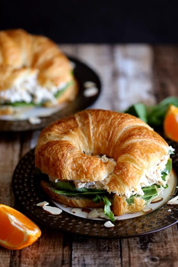 Mandarin Orange Chicken Salad
