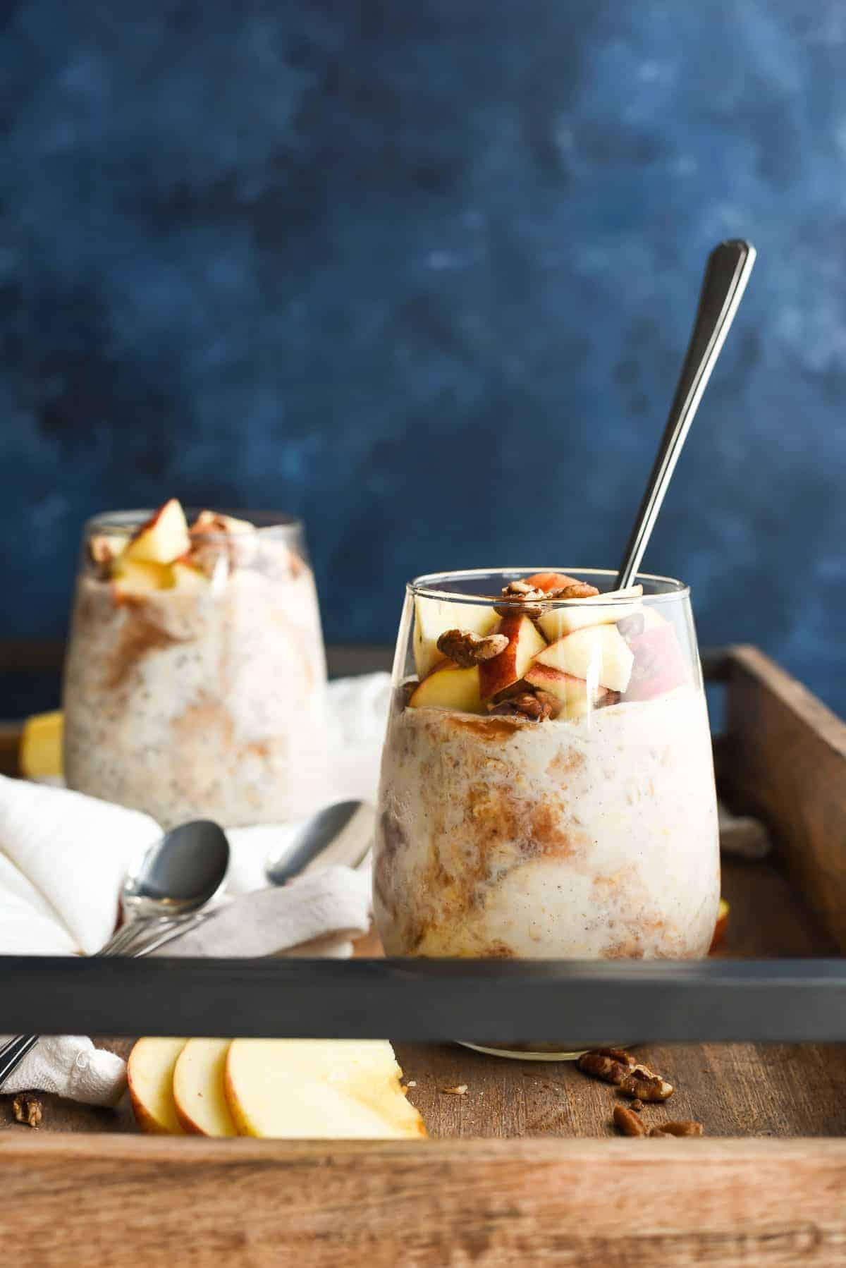 Apple Butter Overnight Oats | NeighborFood