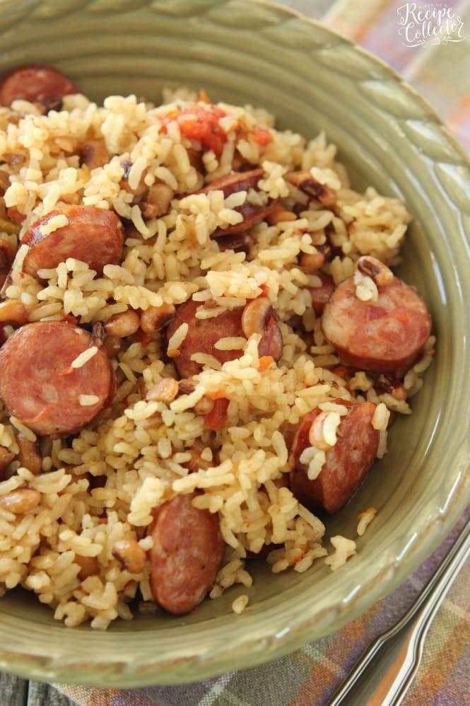 Rice Cooker Sausage Jambalaya