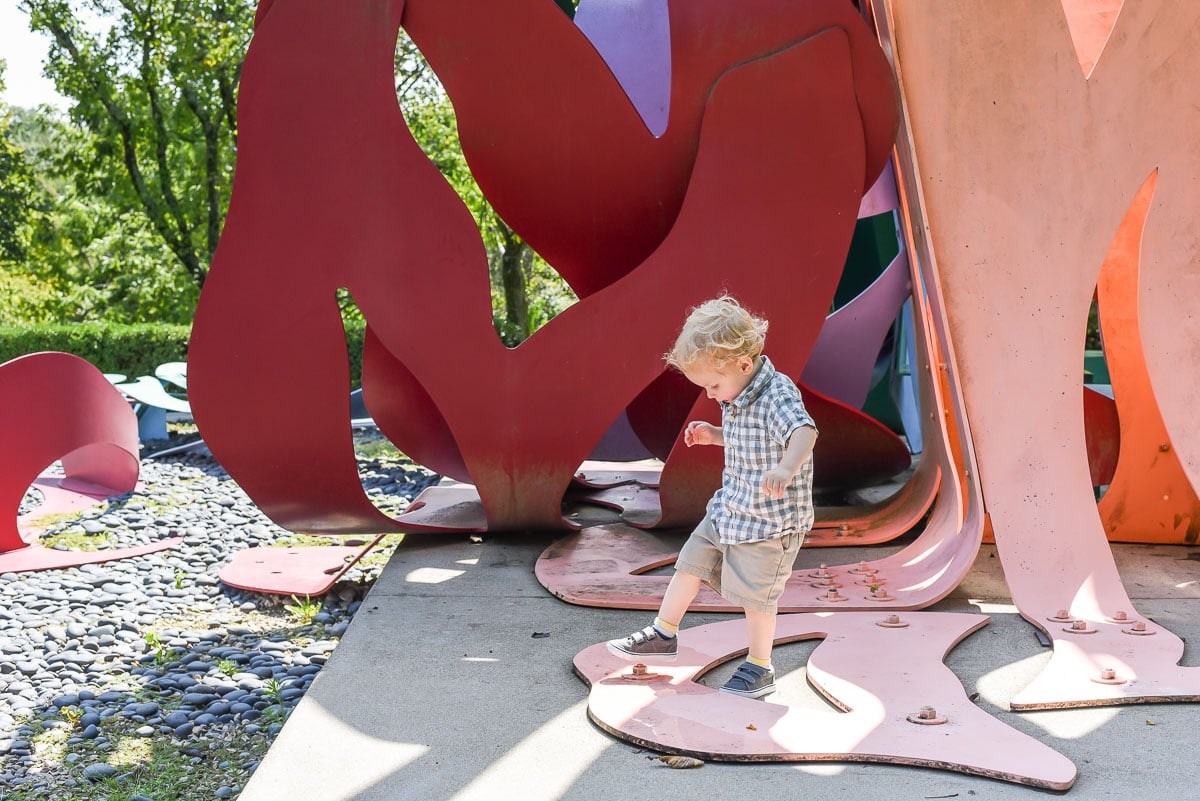 Cincinnati's Pyramid Hill Sculpture Park