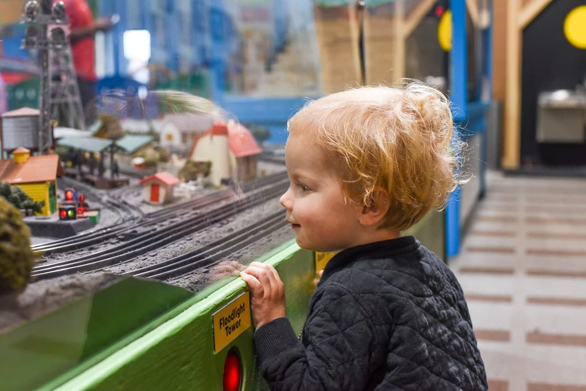 Entertrainment Junction- a great spot for kids!