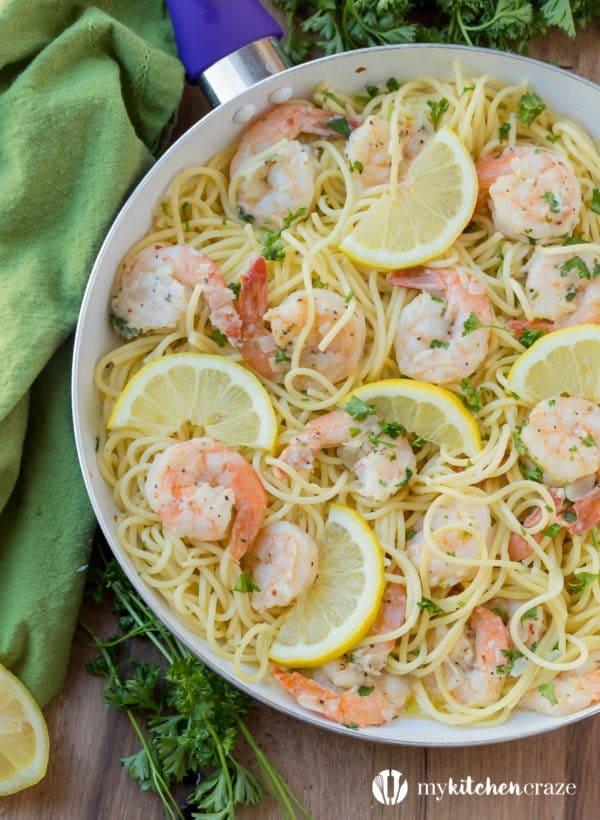 30 Minute Shrimp Scampi