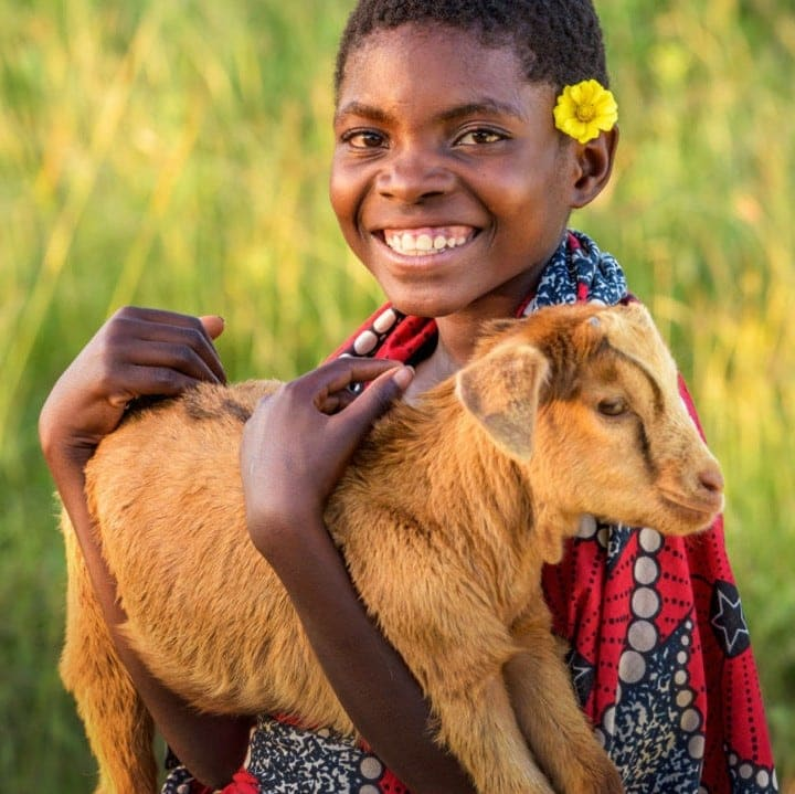 Know someone who has everything? Check out the World Vision gifts that give back catalogue and give the gift of a goat, clean water, or lifesaving medicines this year.