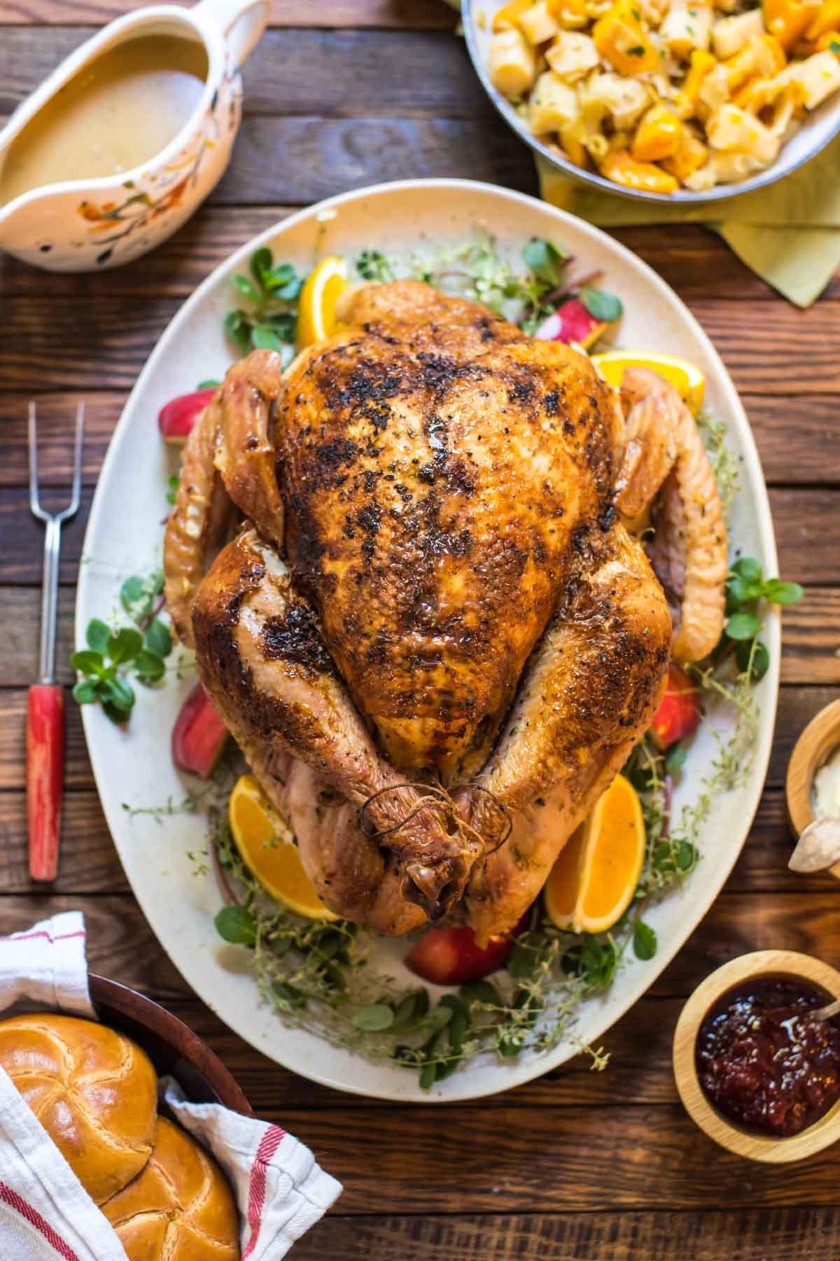 Braised Apple Cider Turkey