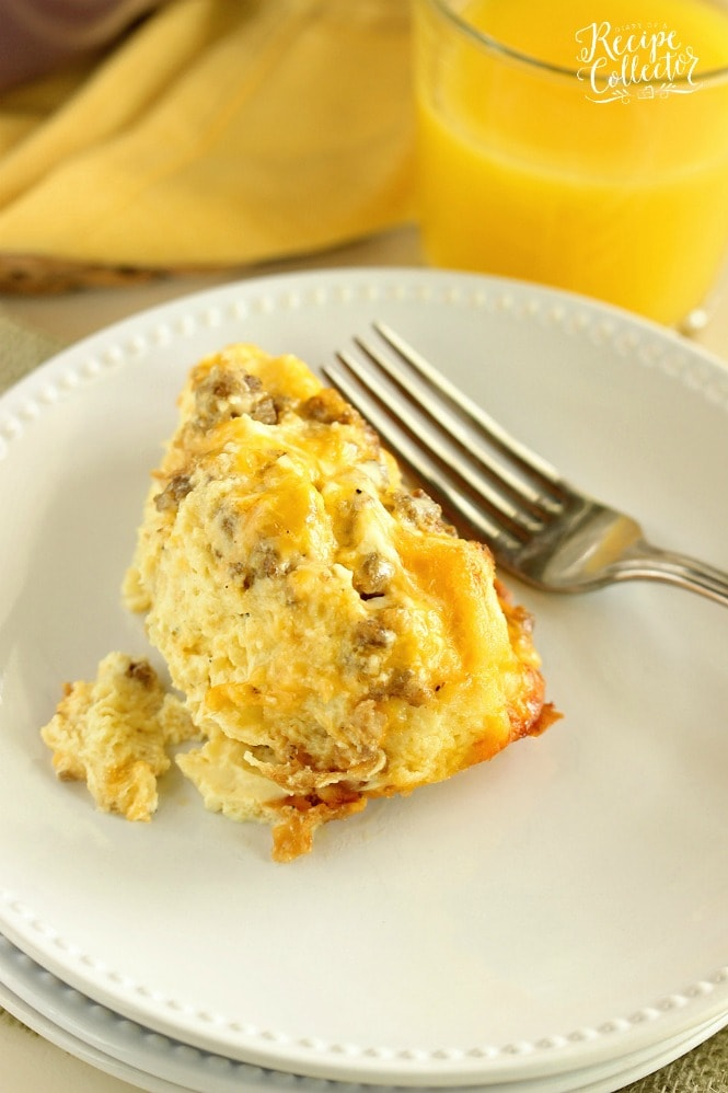 Sour Cream Breakfast Casserole