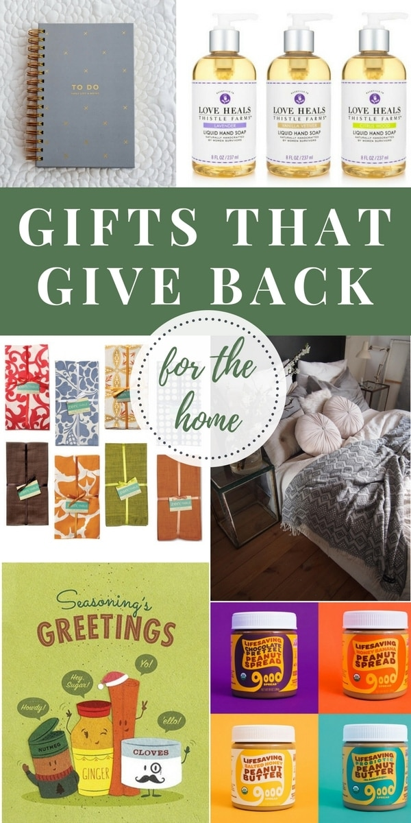 Shop with a purpose this season with these gorgeous and unique gifts that give back to communities and families throughout the world!