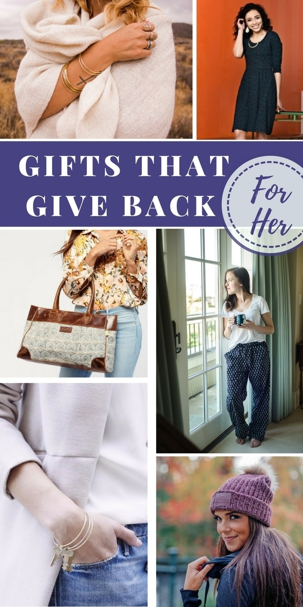 Use my GIfts That Give Back guide to find something unique for the ones you love while also helping support families in need!