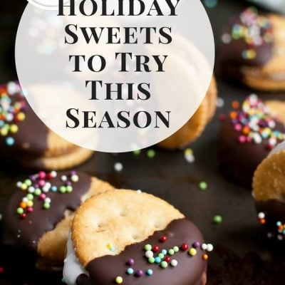 If you're looking for a new cookie or DIY holiday gift, check out these 8 Christmas sweets!