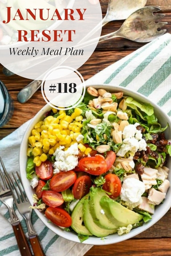 Weekly Family Meal Plan 118 | Neighborfoodblog.com