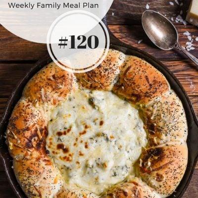 Weekly Family Meal Plan 120 | Neighborfoodblog.com