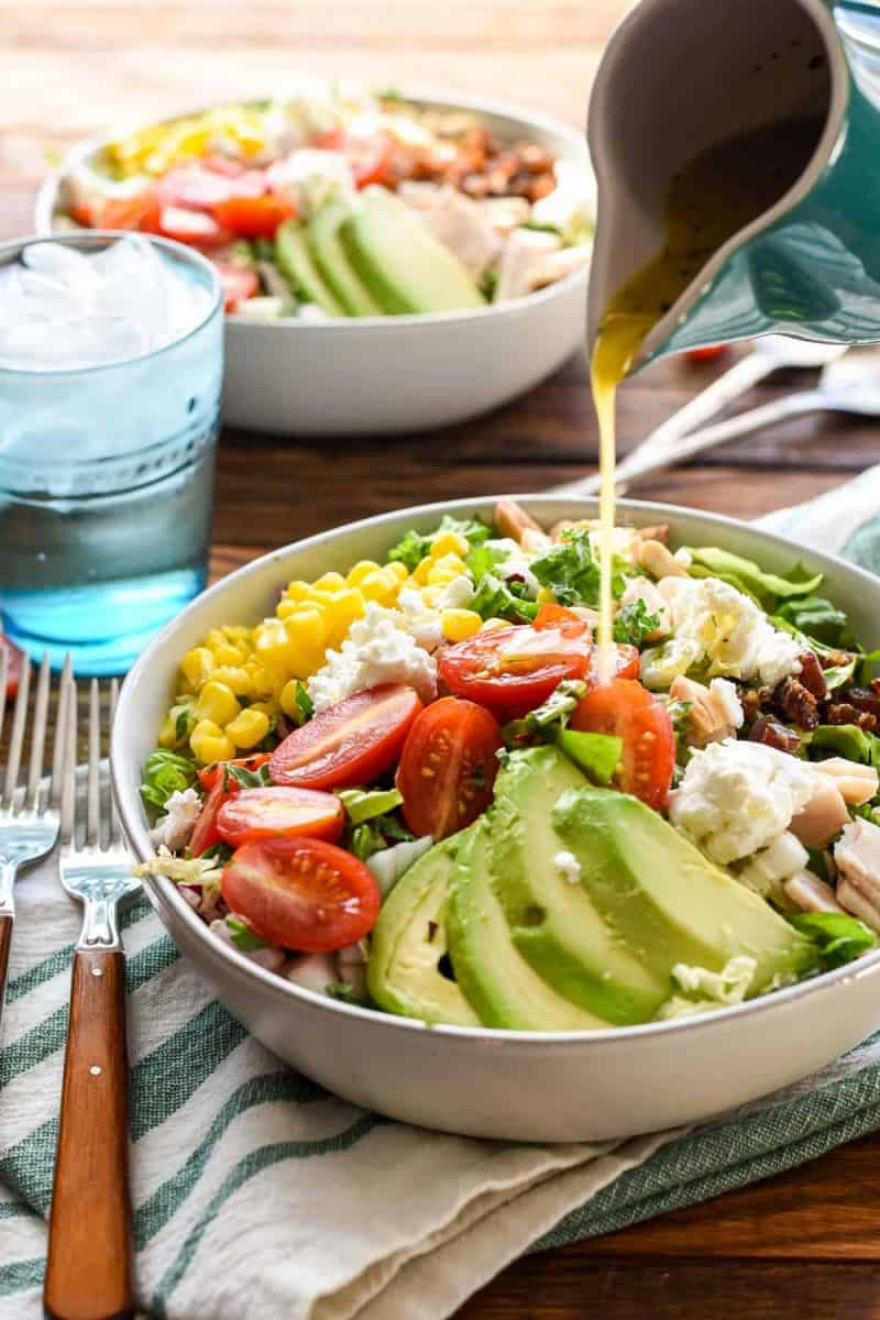 Copycat Northstar Chopped Salad with Goat Cheese and Dates