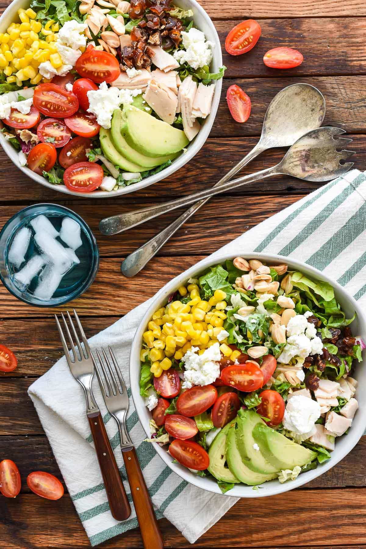 Make chopped salad like the pros with this Copy Cat Northstar Chopped Salad with Avocado, Dates, and Goat Cheese.