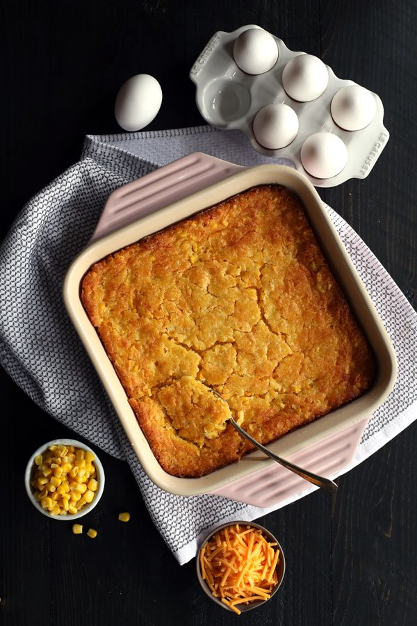 Cheesy Corn Casserole