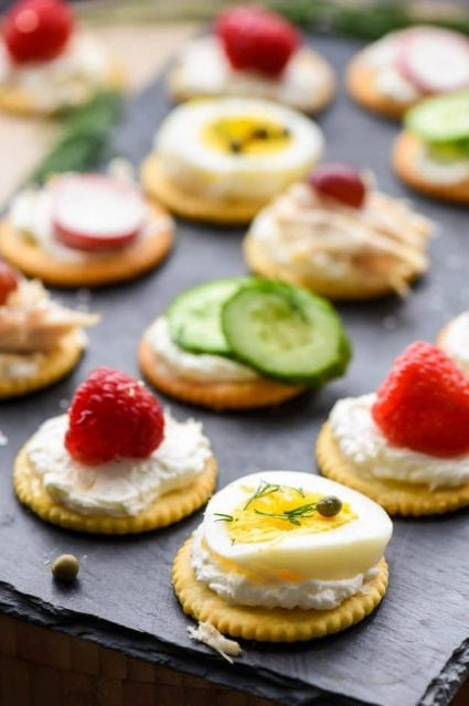 5 Ritz Cracker Appetizers You Can Make in 5 Minutes