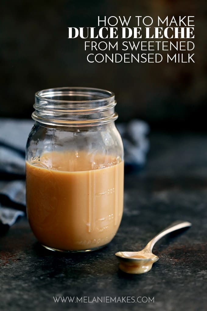 How to Make Dulche de Leche from Sweetened Condensed Milk