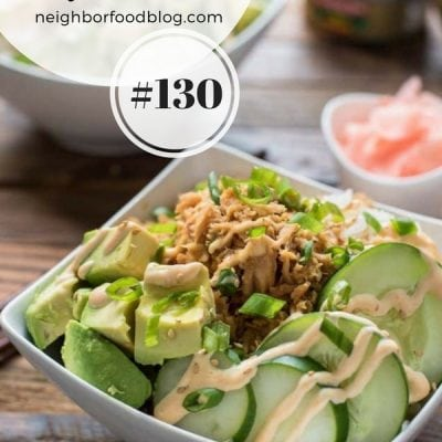 Weekly Family Meal Plan 130 | NeighborFood