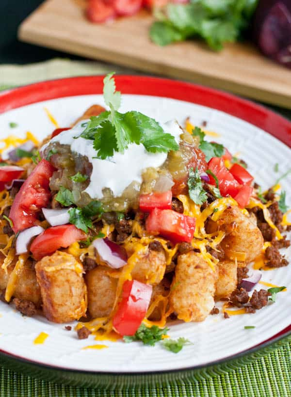 Loaded Taco Tater Tots