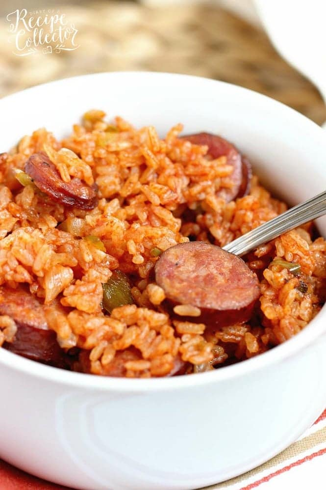One Pot Sausage and Red Rice
