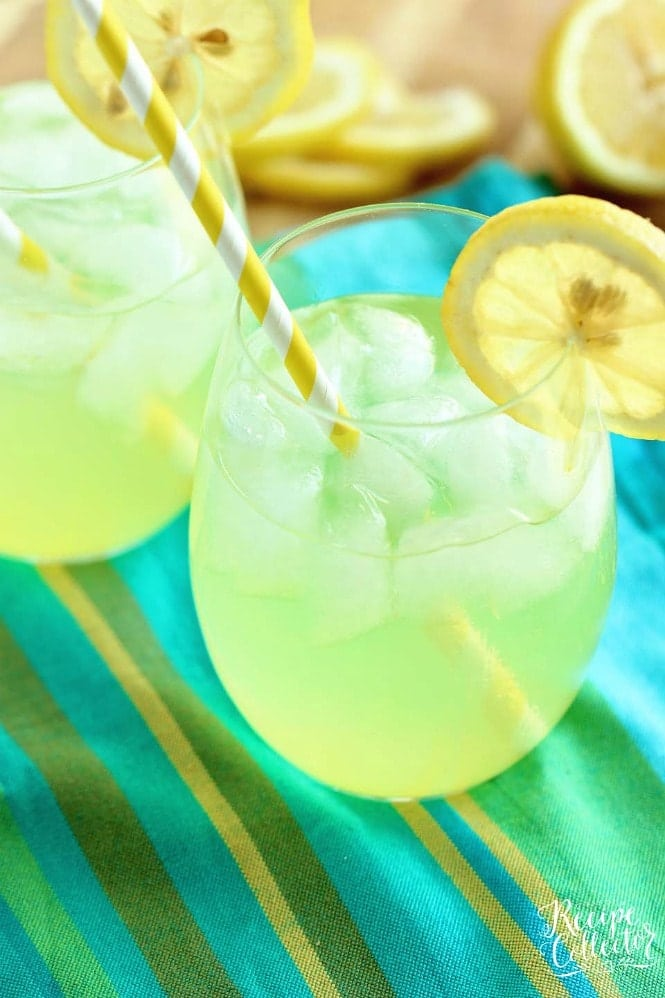Skinny Vodka Lemonade
