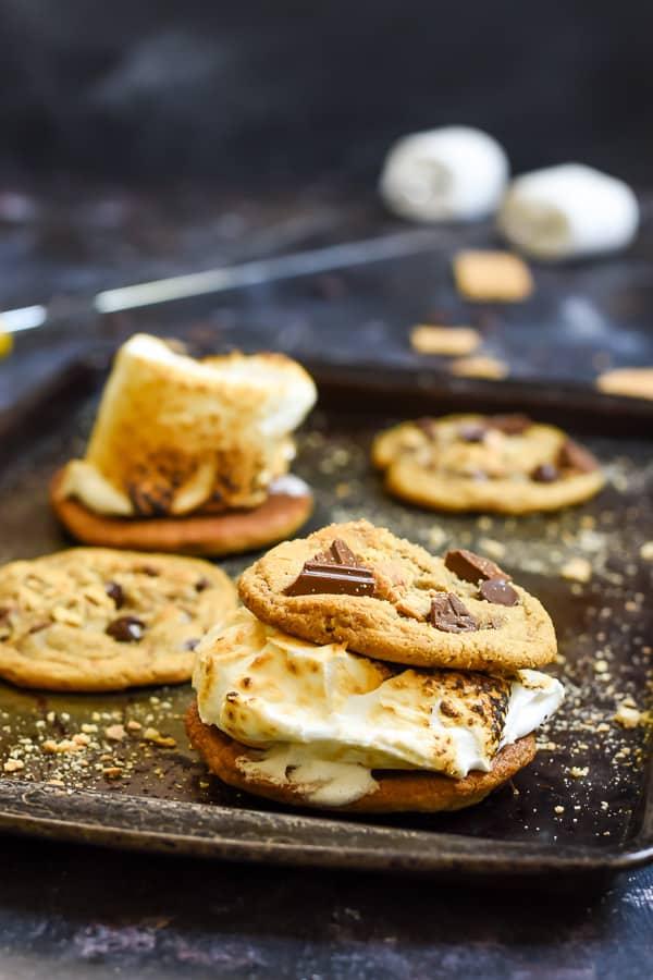 Graham Cracker Chocolate Chip Cookies | NeighborFood