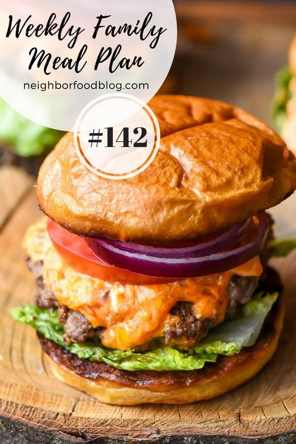 Weekly Family Meal Plan 142 | NeighborFood