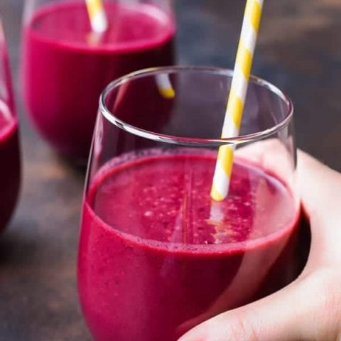 Cherry Beet Smoothies