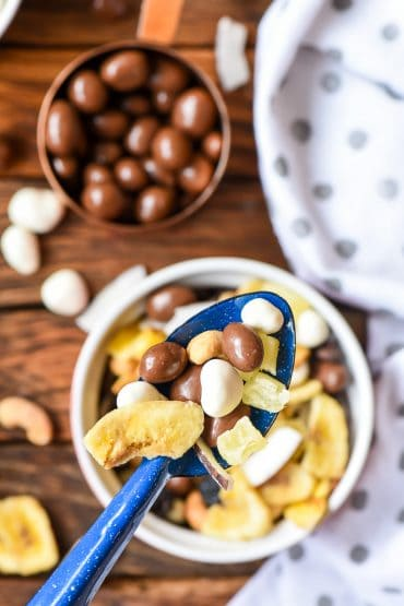 Spoonful of Chunky Monkey Trail Mix