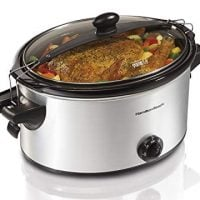 Hamilton Beach Stay or Go Slow Cooker, 6-Quart